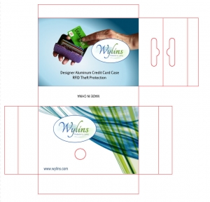 Wylins Box Product Label by Prodigy Designs