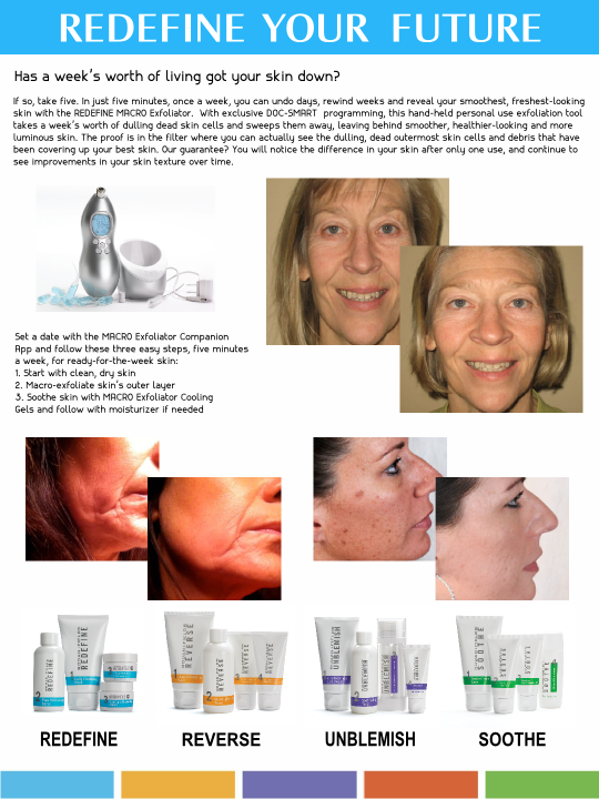 Rodan & Fields Product Sell Sheet Back by Prodigy Designs