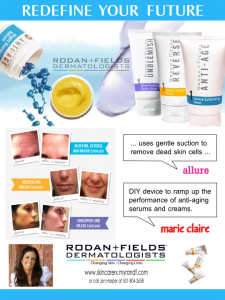 Rodan & Fields Product Sell Sheet Front by Prodigy Designs